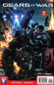 Gears Of War #1 Retail Variant (2008) DC comic book